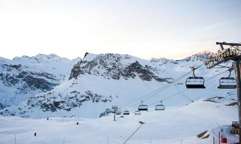 Colabitoil hjälper det alpina landslaget att nå sina hållbarhetsmål