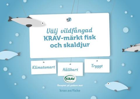 Grönt ljus för KRAV-märkt fisk