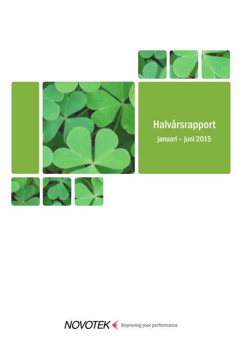 Halvårsrapport 2015