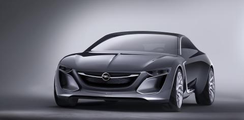 Monza Concept: Det här är morgondagens Opel