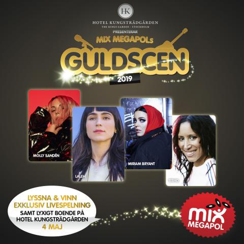 Mix Megapols Guldscen