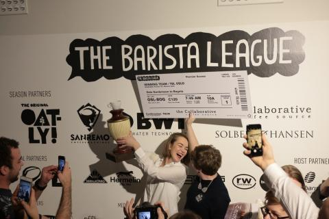 Winning Team The Barista League: Oslo
