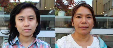 INBJUDAN PRESSTRÄFF  Möt två kvinnorätts- och fredsaktivister från Burma