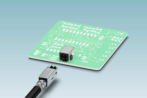 Double-row PCB connectors