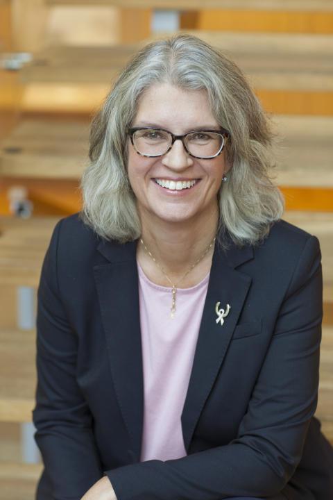 Helena Thelin, platschef Pfizer Strängnäs