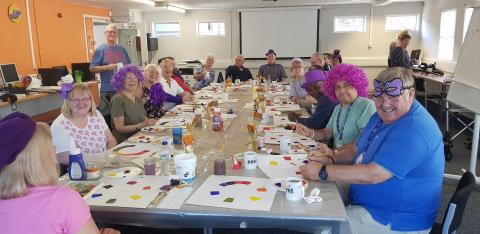 Art after stroke: exhibition showcases the work of local stroke survivors