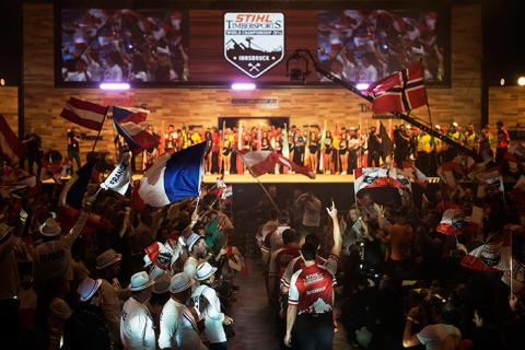 STIHL TIMBERSPORTS® världsmästerskap 2015 kommer till Polen i november