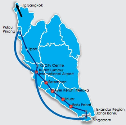 Tenders for Kuala Lumpur-Singapore high speed rail link expected late 2014
