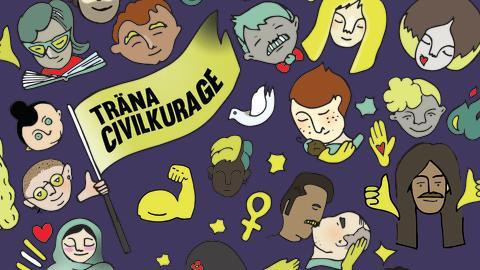 Nu lanseras gratis civilkurage-träning för Umeborna  - först ut workshop med temat sexism