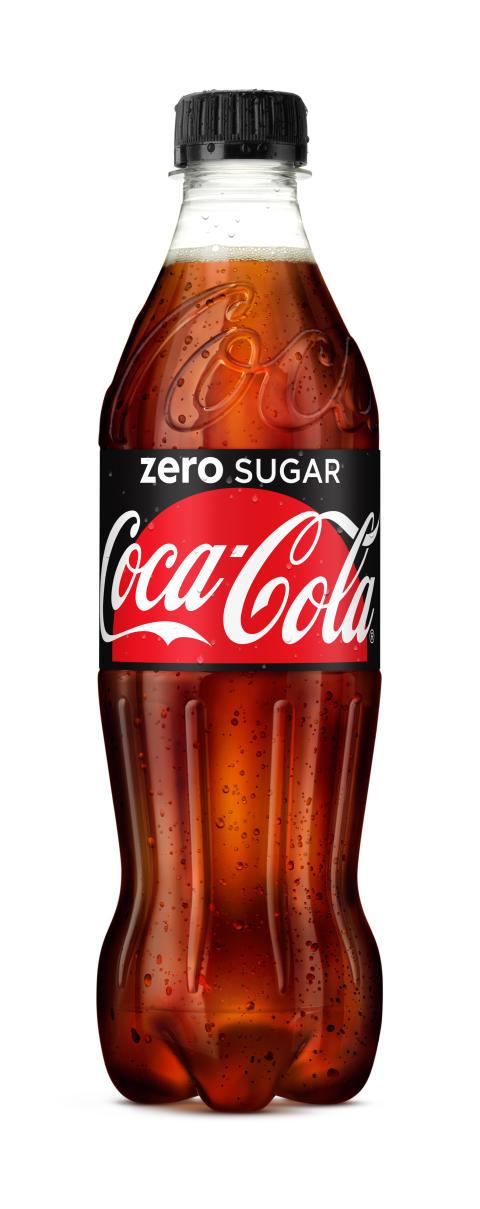 Coca-Cola zero sugar 500 ml PET flaska
