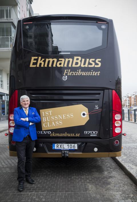 EkmanBuss Flexibussitet, Johan Ekman