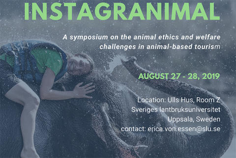 Pressinbjudan: Symposium om värderingar och utmaningar inom djurbaserad turism 27–28 augusti