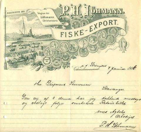 P.H. Lömann Fiske-Export