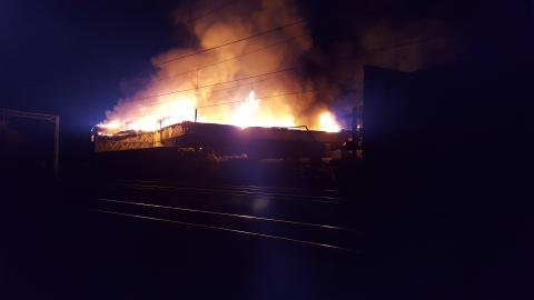 Earlier fire will continue to cause disruption to trains from London Euston all day