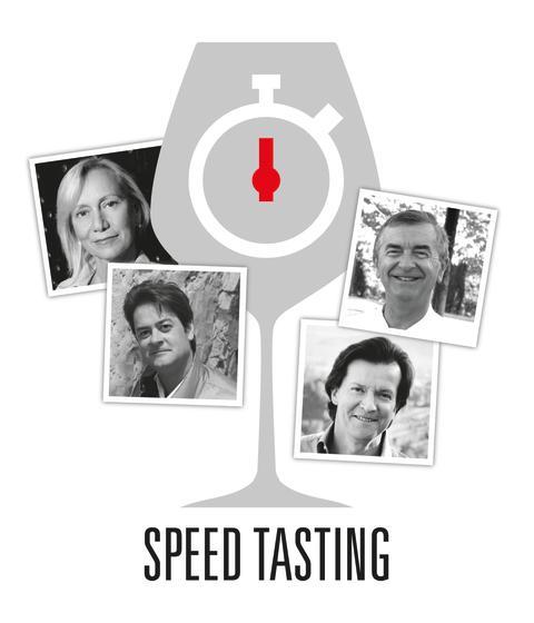 Speed Tasting logga med utvalda producenter