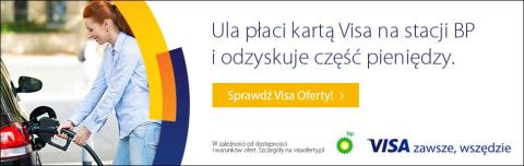 Sieć stacji paliw BP dołącza do programu Visa Oferty