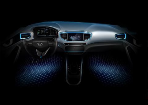 Hyundai IONIQ interiør