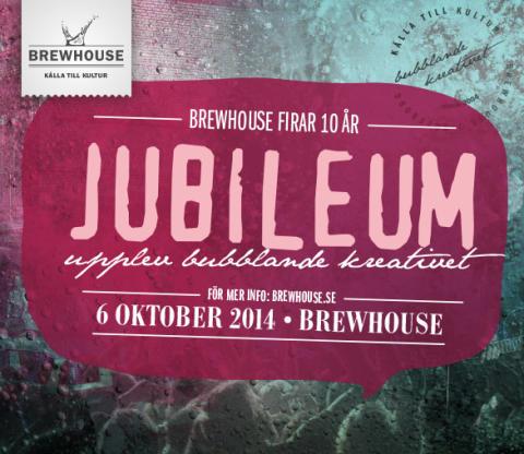 Brewhouse i Göteborg firar tio bubblande nybyggarår den 6 oktober!