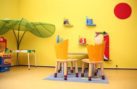 Spielzimmer für die Geschwisterkinder