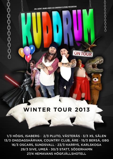 Kuddrum vinterturné 2013