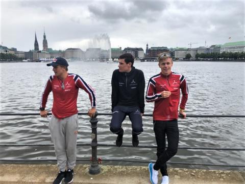 Kristian Blummenfelt, Gustav Iden og Casper Stornes stiller til start i Hamburg WTS på lørdag 6. juli 2019