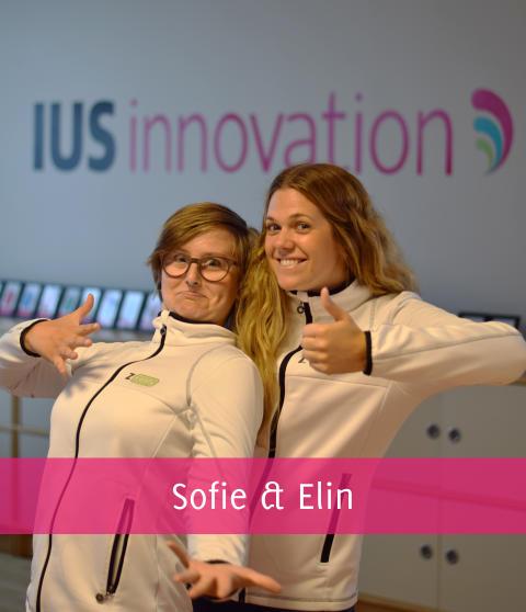 Det är vi som sköter IUS innovations marknadsföring