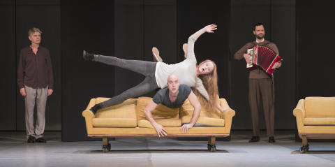 Som i en dröm - dansteater av Birgitta Egerbladh