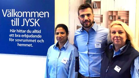 JYSK i Umeå bygger om till senaste butikskonceptet
