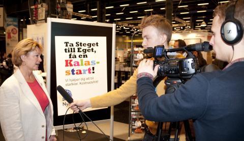 Eget Företag 2010: intervju med Lena Adelsohn Liljeroth