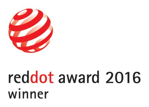 Red dot design award winner 2016