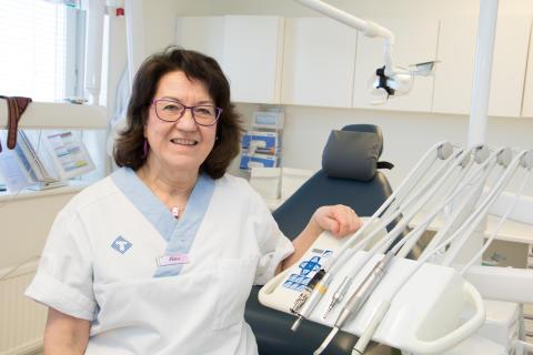 Ny odontologisk specialist