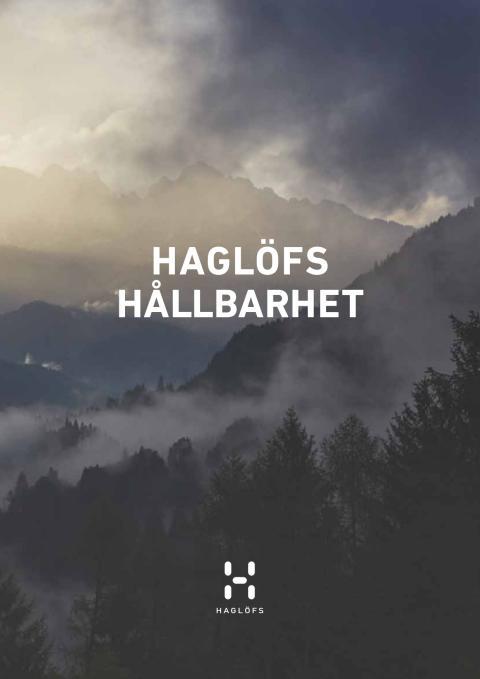 HAGLÖFS HÅLLBARHET 2015