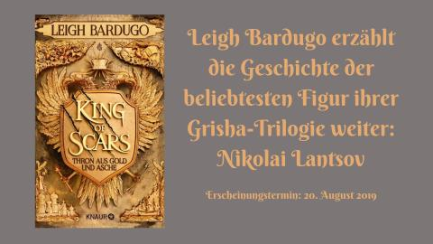 US-Autorin Leigh Bardugo präsentiert ein neues Abenteuer aus der Welt der Grisha