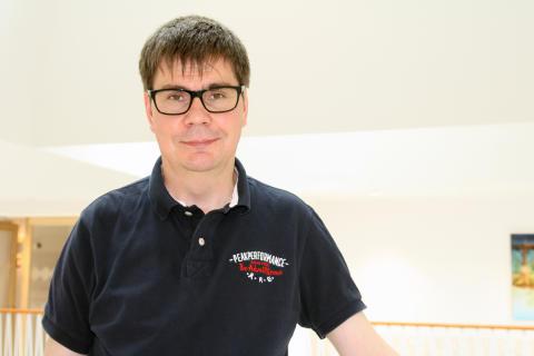 Mikael Lundborg, ledamot i Praktikertjänsts styrelse. Leg läkare.
