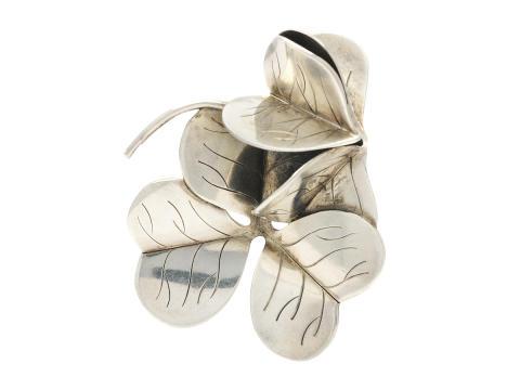 Moderna 13/9, Nr: 179, BROSCH, sterling silver, 4,9 x 3,9 cm, Danmark