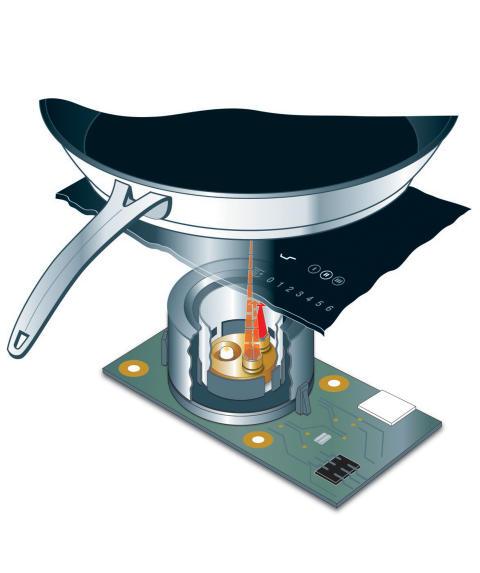TempControl med sensorer för exakt temperaturreglering
