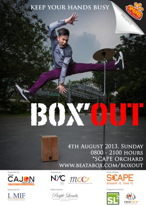 BOX'OUT (4th August 2013) - CAJON FESTIVAL