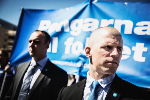 Ny temasajt om nazistiska Svenskarnas parti