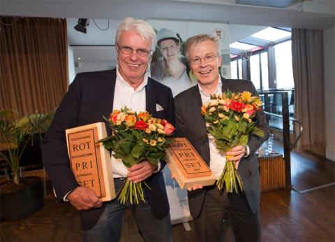 Blomsterfondens seniorbostäder i Älvsjö vann Stockholms Byggmästareförenings ROT-pris 2014