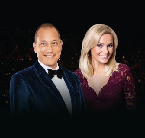 """Storslagen, exklusiv galakonsert """"Gala Elegance"""" med John Kluge, Sofia Källgren m.fl. på Valand Festvåning i Göteborg den 21 september 2018!"""