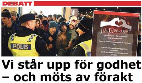 Aftonbladet debatt: Landets kyrkoledare om reaktionerna på Juluppropet