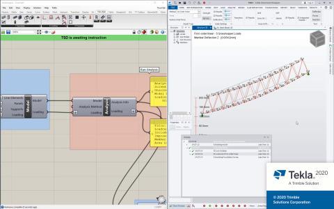 Tekla Structural Designer 2020 Grasshopper Direct Link