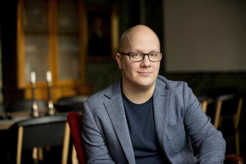 Kenneth Nilsson (S) Kommunstyrelsens ordförande. Fotograf Ulla-Carin Ekblom