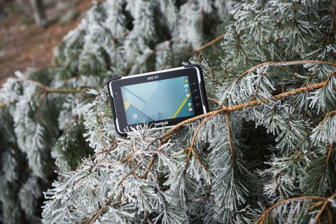 The ALGIZ RT7 ultra-rugged Android tablet can handle cold environments