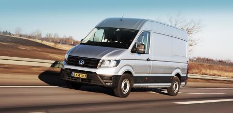 Volkswagen introducerer ny Crafter til priser fra 209.995 kr.