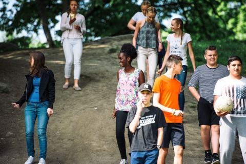 Erlaskolan i Falun deltar i projekt  för att minska utanförskap i samhället