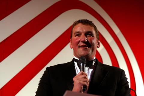SportsAid alumnus Sir Matthew Pinsent at the SportsBall in 2007