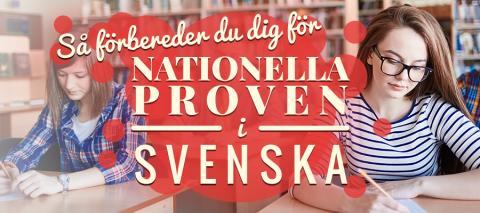 Så förbereder du dig för nationella proven i svenska