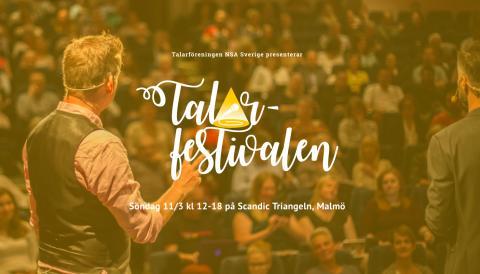 Europas första Talarfestival- 11 mars 2018 i Malmö