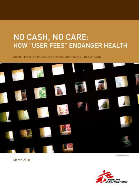 No cash - No care
